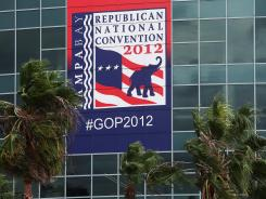 The first events at the Republican National Convention will occur at the Tampa Bay Times Forum on Tuesday.