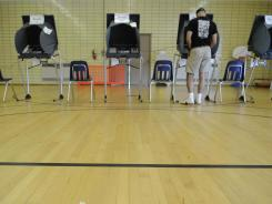 Man against voting machine: The worst voting machines are strictly digital with no paper backup, and they are still used in at least some counties in 16 states.