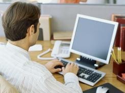 All in a day's work: Sitting for long periods can shorten hip flexors, and that can lead to physical problems.
