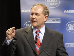 Former Virginia Governor Jim Gilmore was the chairman of the Republican National Committee in 2001.