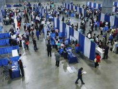 Residents of the District of Columbia participate in U.S. Rep. Eleanor Holmes Norton's 15th annual job fair last month.