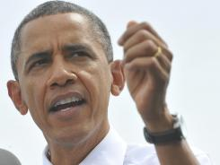 President Obama appears at a campaign event in Urbandale, Iowa, on Saturday. Obama tells USA TODAY that his convention speech has a different mission than it did four years ago.
