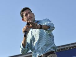 GOP vice presidential nominee Paul Ryan.