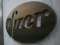A Pfizer pill treats chronic myeloid leukemia in patients with a genetic mutation.