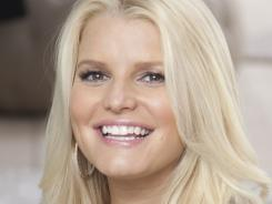 Jessica Simpson's first Weight Watchers ad was shot Aug. 16 in Los Angeles.