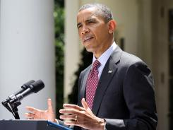 President Obama delivers remarks on June 15 on his administration's decision to delay any deportation proceedings for up to 1.7 million young illegal immigrants for two years and grant them work permits.