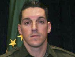 This photo provided by U.S. Customs and Border Protection shows slain U.S. Border Patrol agent Brian A. Terry.