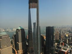 Ground Zero: One World Trade Center opens in 2014.