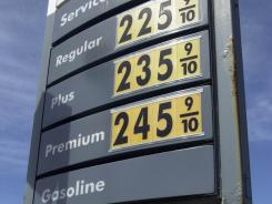 Gas prices as they were in March 2004. New standards require 54.5 mpg by 2025.