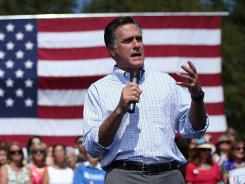 Mitt Romney trails President Obama by 2 percentage points in the latest USA TODAY/Gallup Poll of Swing States.