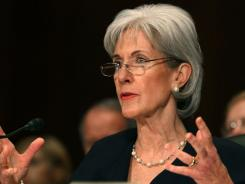 Secretary of Health and Human Services Kathleen Sebelius