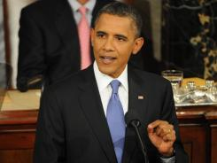 President Obama adresses a joint session of Congress on Thursday night.