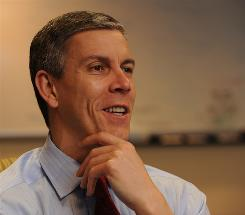 "Delaware and Tennessee are ""trying to reach every child in their state,"" says U.S. Secretary of Education Arne Duncan."