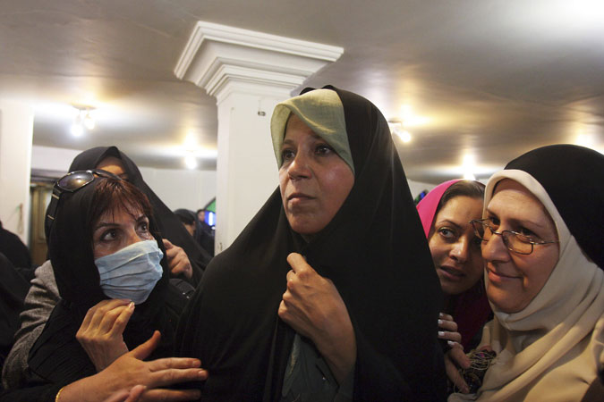 Daughter Of Former Iranian President Rafsanjani Taken To Prison