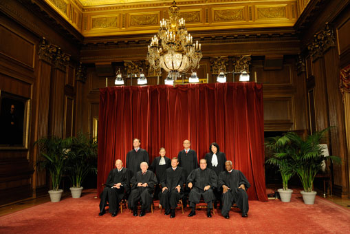 supreme court  justices photo 2009
