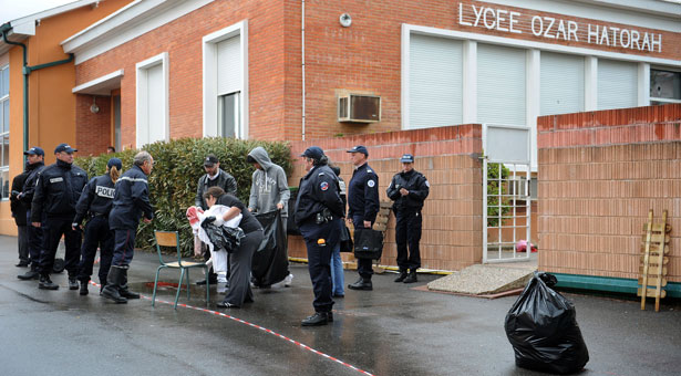 france jewish school shooting