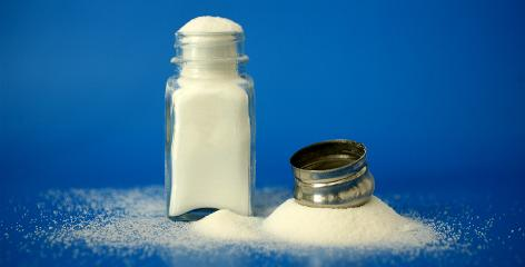 Just as this salt shaker is overflowing, Americans' diets have an overabundance of sodium, particularly consumed through processed foods, public health experts say.