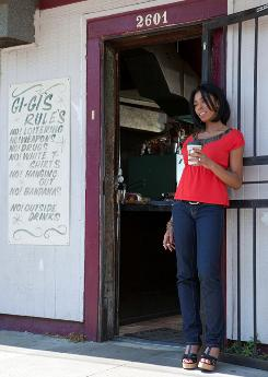 """Treme"": Khandi Alexander as owner of a New Orleans bar in the show."