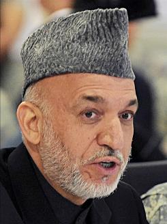 Karzai: Afghanistan's president.