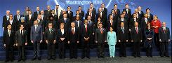 The negotiators: President Obama hosts leaders of 46 other nations for two days in Washington.