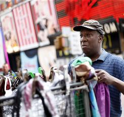 Duane Jackson, a vendor in Times Square, was one of the first people to alert police of a suspicious car.