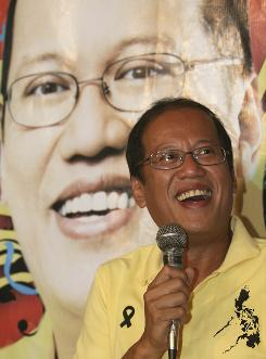 Sen. Benigno Aquino III, son of former president Corazon Aquino, is the next president of the Philippines.