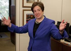 Kagan: As the U.S. solicitor general, she's already familiar with the nation's highest court.