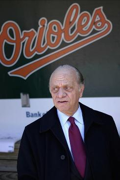 Angelos: Owner of Baltimore Orioles.
