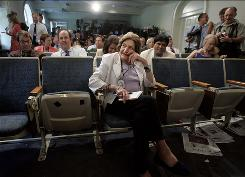 At the White House: Helen Thomas had occupied a front-and-center spot in Washington for decades.
