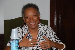 Nancy Morejon, Cuban writer.
