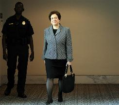 Nominee: Elena Kagan's hearings will begin Monday.