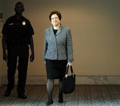 Nominee: Elena Kagan's hearings will begin Monday.