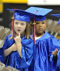 Members of the graduating class of 2010 at a Head Start program in Hattiesburg, Miss.
