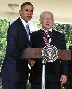 President Obama and Israeli Prime Minister Benjamin Netanyahu at the White House on Wednesday.