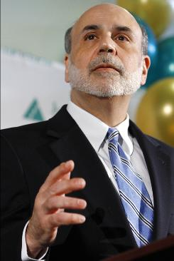 "Ben Bernanke: Fed chairman is expected to urge more ""quantitative easing."""