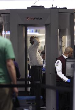Security: Pat-downs are used if fliers opt out of full-body scans.