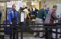 Holiday travel: Air passengers will face tougher security procedures at the airport.