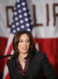 Harris: Calif.'s next attorney general.