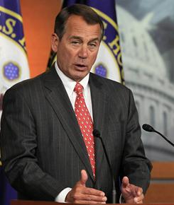 Rep. John Boehner, R-Ohio, becomes the new speaker of the House of Representatives today.