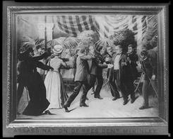 "In 1901: Leon Czolgosz kills President McKinley with a concealed gun. A historian wrote, ""It is evident that (Czolgosz's) mental condition progressively deteriorated."""