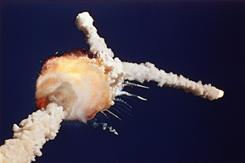 Jan. 28, 1986: The space shuttle Challenger explodes 73 seconds after lifting off from Kennedy Space Center. It took the lives of high school teacher Christa McAuliffe and six fellow astronauts.