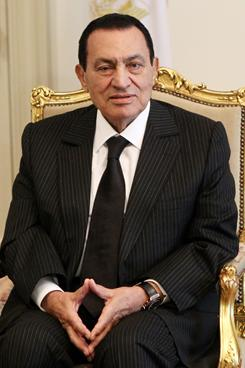 Mubarak: President of Egypt has been in power since 1981. He will turn 83 in the fall.