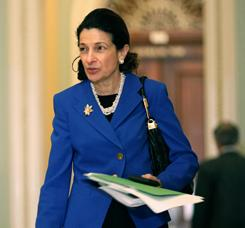 Snowe: Challenges GOP orthodoxy. 