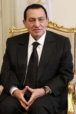Mubarak: President for 30 years.