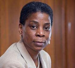 Making history: Ursula Burns, who heads Xerox, is the first female African-American CEO in the Fortune 500.