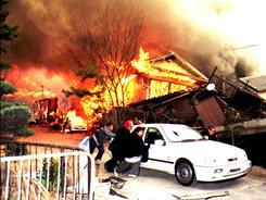 16 years ago: A magnitude 7.2 quake near Kobe, Japan, killed 6,400 people in 1995.