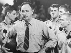"Gene Hackman in the 1986 film ""Hoosiers."""