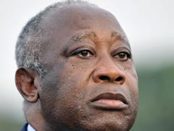 Gbagbo: Lost re-election last fall.
