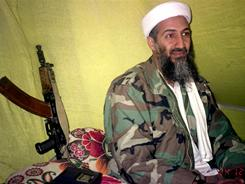 Osama bin Laden spoke to a selected group of reporters in the mountains of Helmand province in southern Afghanistan in 1998.