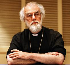 The Archbishop of Canterbury Rowan Williams is the leader of the 77-million-member Anglican Communion.